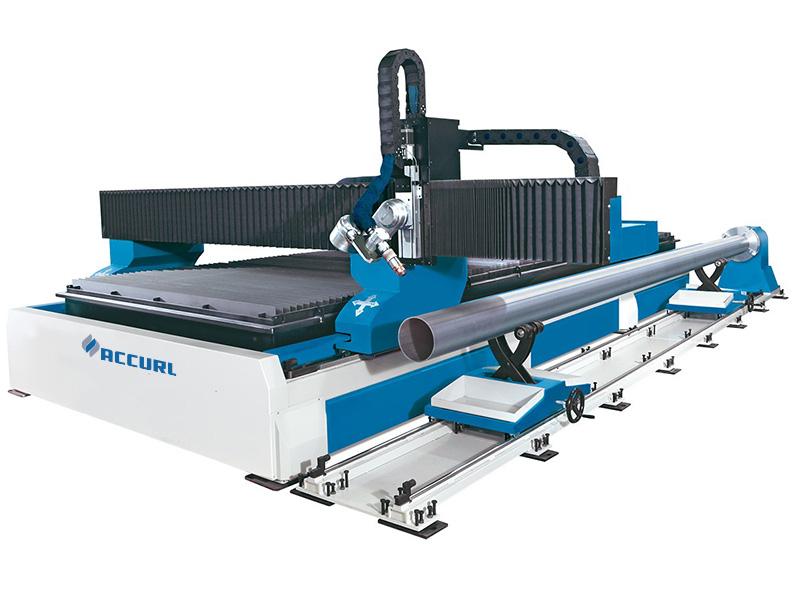 машина за сечење на плазма цевки